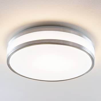Lindby Nelia LED-Alu-Deckenlampe, rund