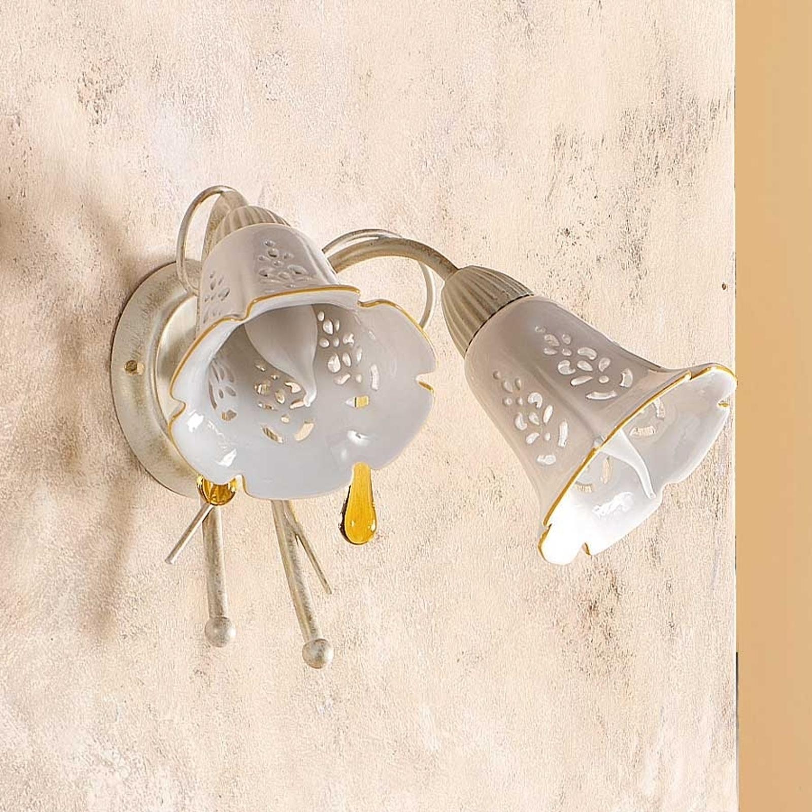 Applique à 2 lampes GOCCE
