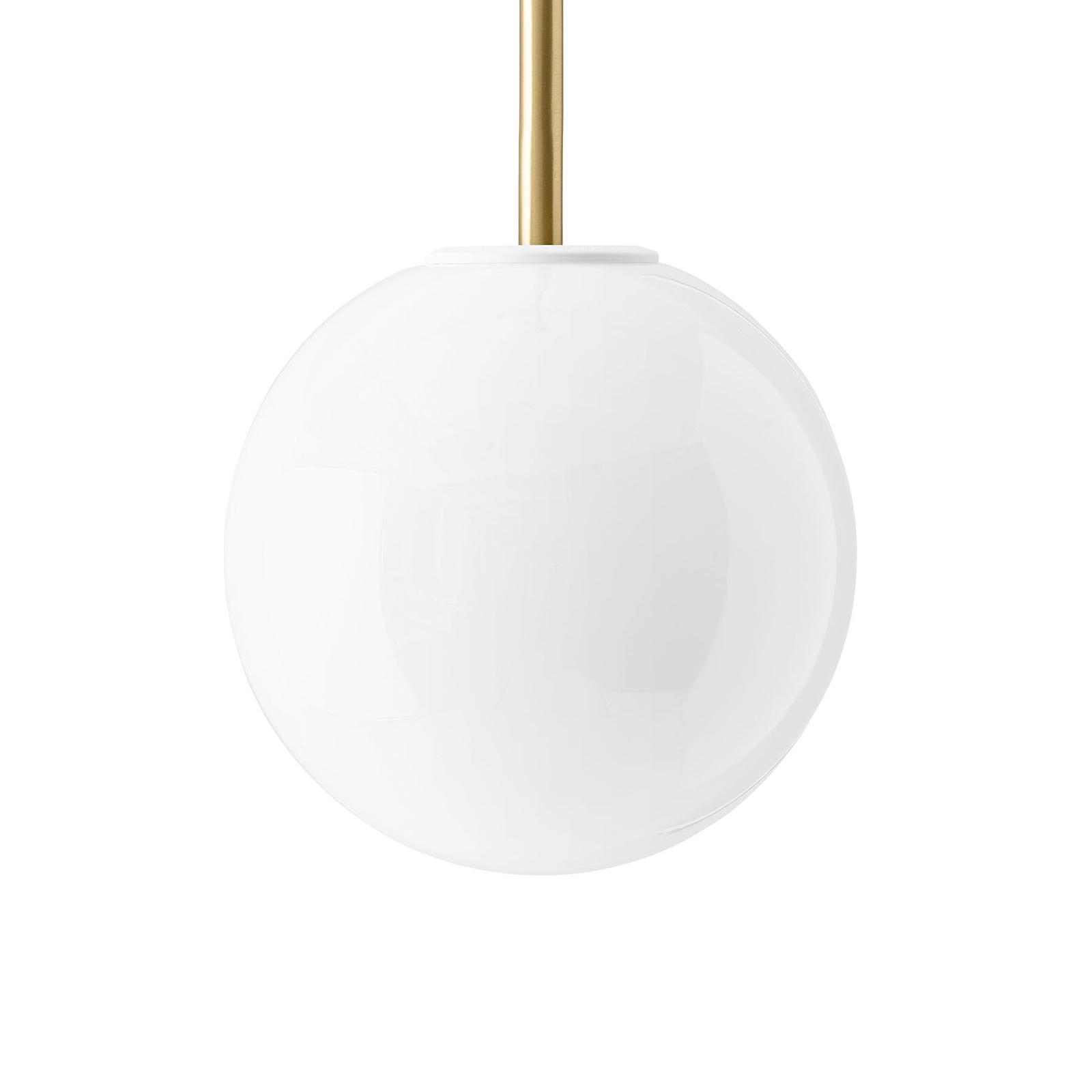 Menu TR Bulb DTW LED-pendel 1lk messing/opal blank