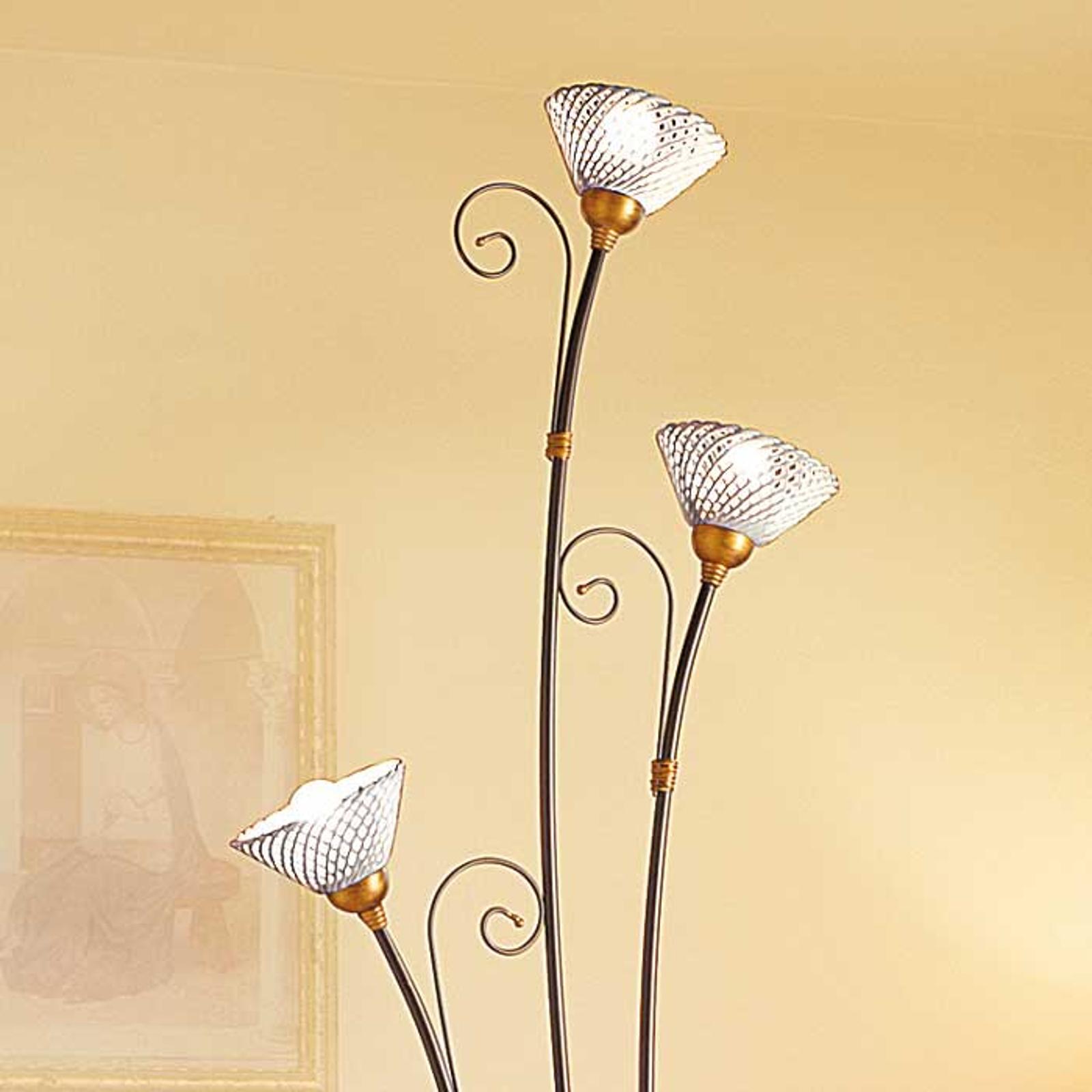 Lampadaire RETINA à 3 lampes