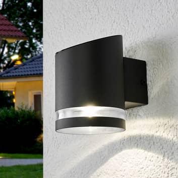 Buitenwandlamp op zonne-energie Melinda met LED