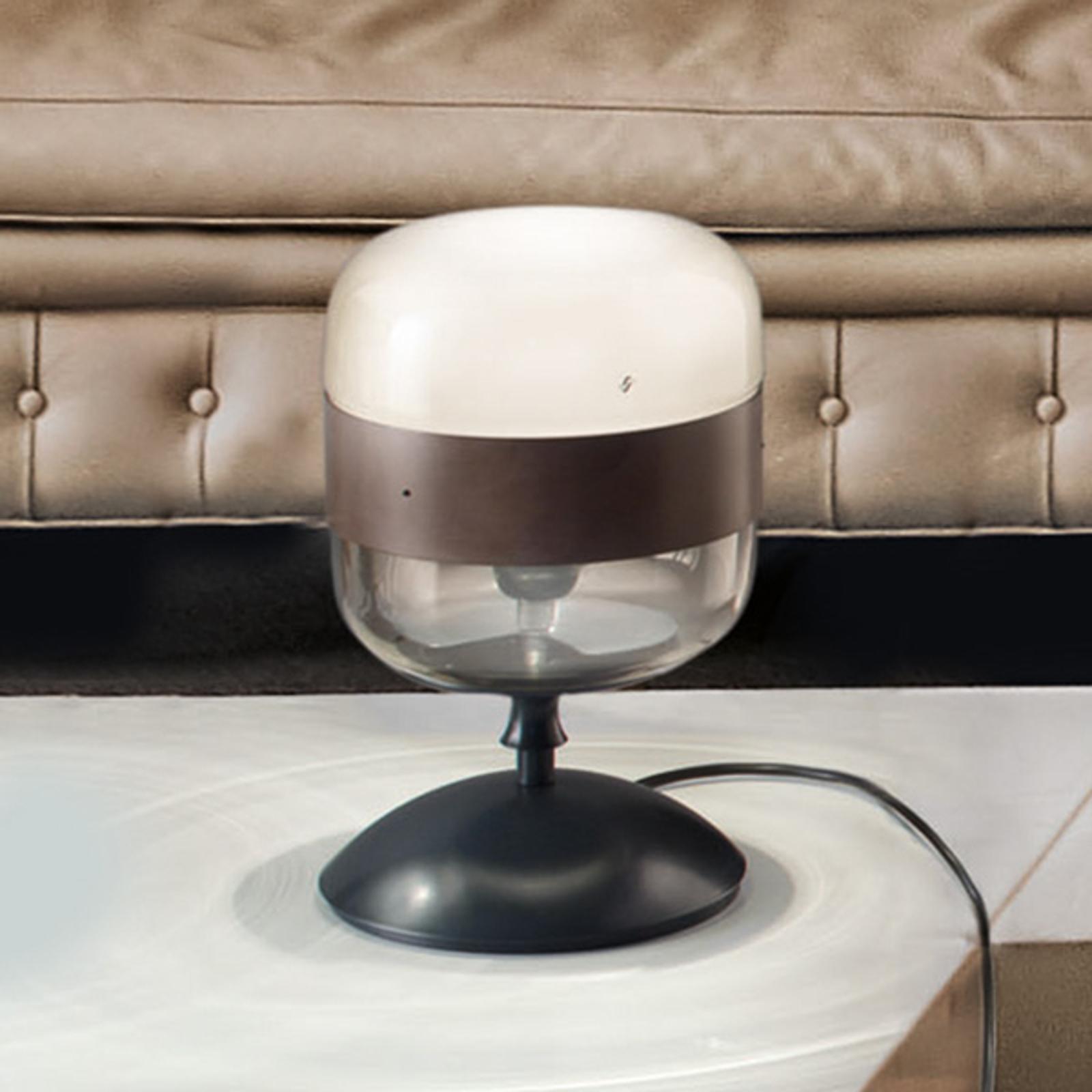 Design-tafellamp Futura van glas, 29 cm