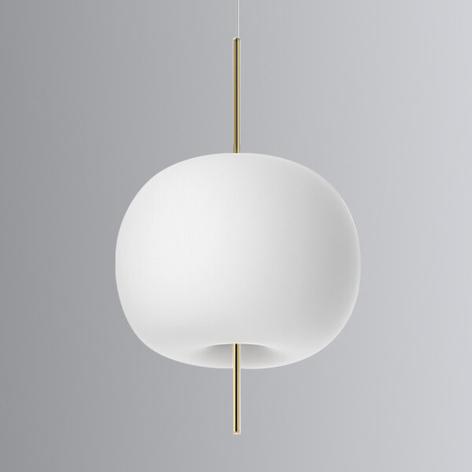 Kundalini Kushi - LED-Hängeleuchte messing