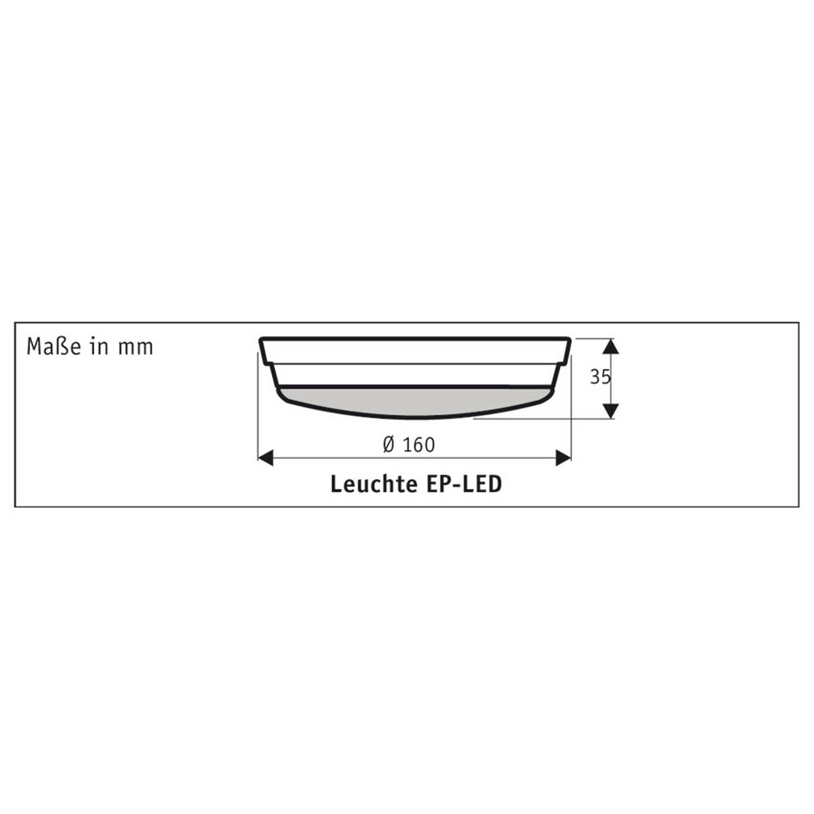 Luminaire LED pour Eco Plano II, blanc