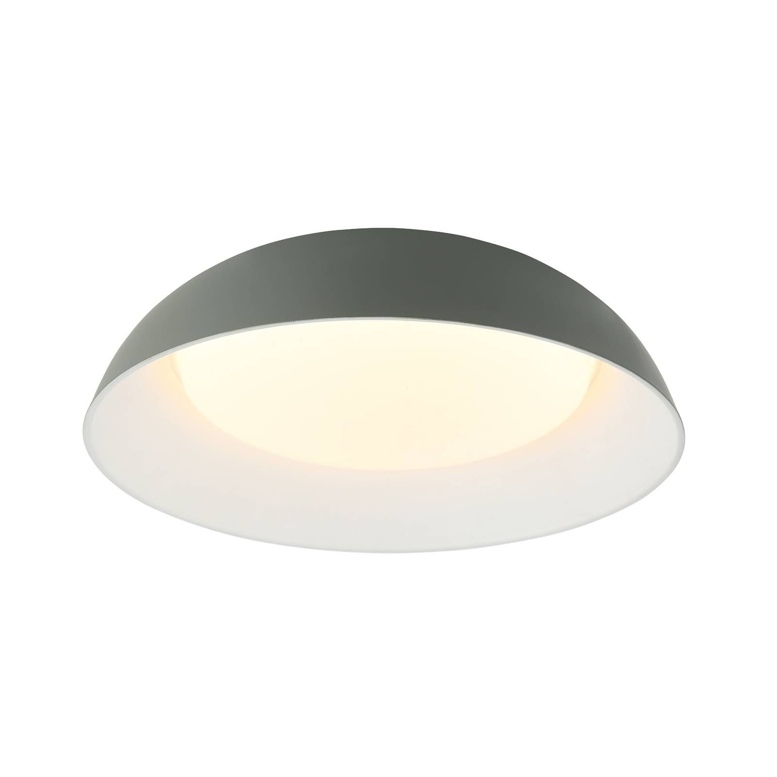 Lindby Lindby Juliven LED stropní svítidlo, šedé