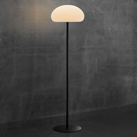 LED-golvlampa Sponge floor för terrassen