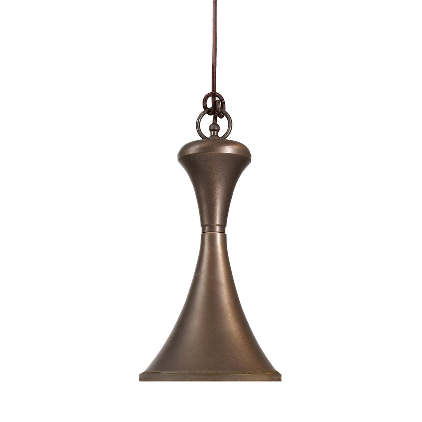 4100 lampa wisząca mosiądz oksydowany