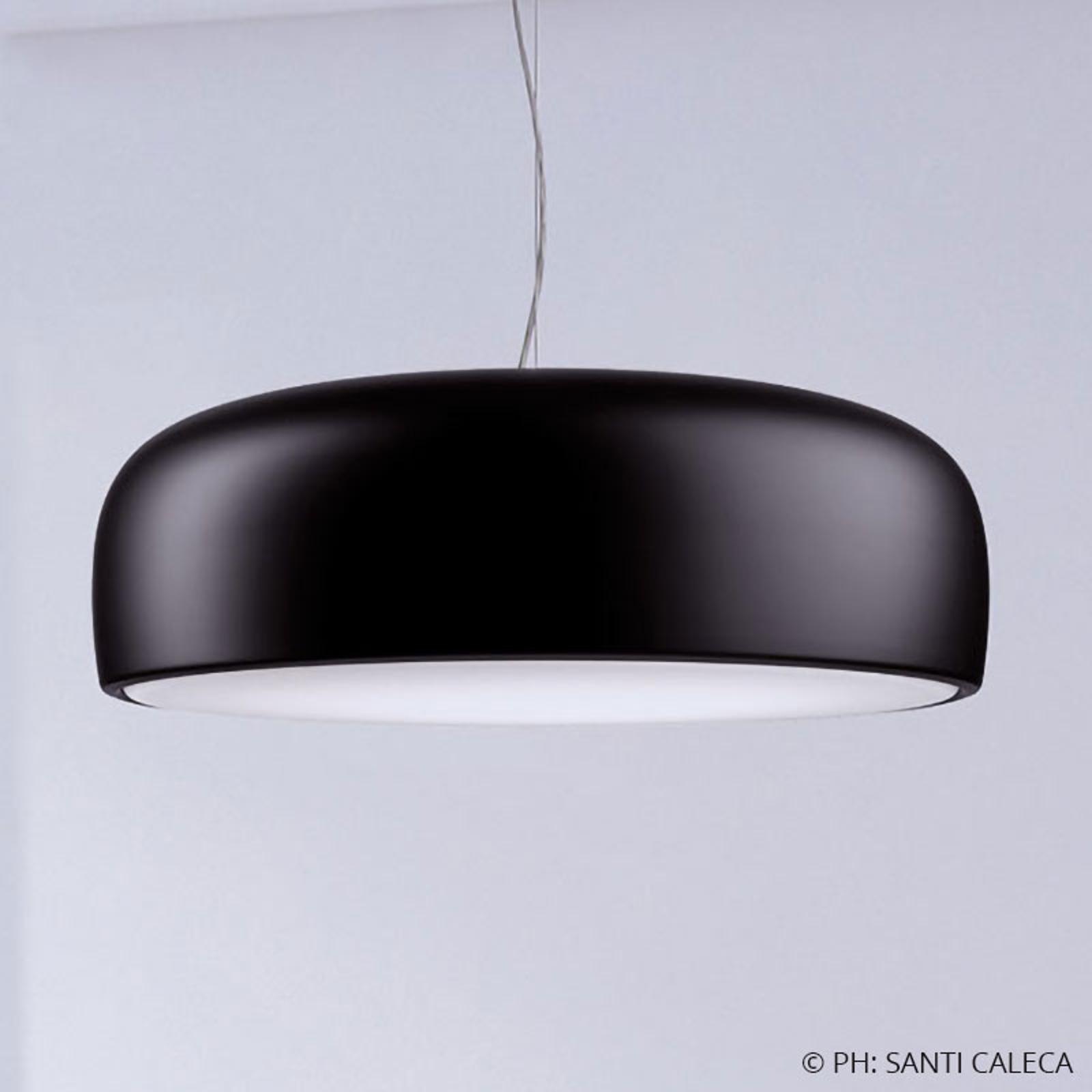 FLOS Smithfield S LED-Hängeleuchte, matt schwarz
