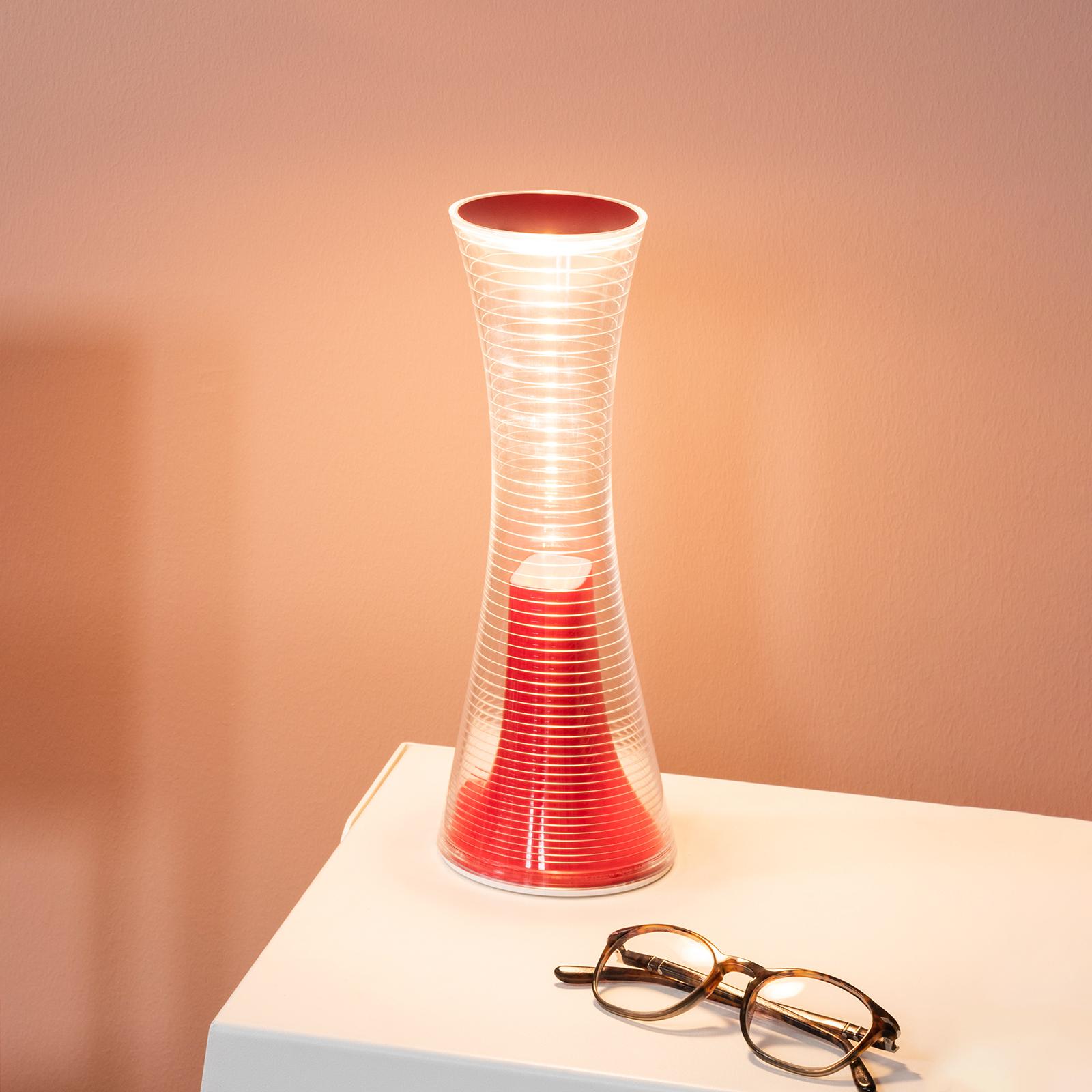 Artemide Come Together lampa stołowa LED czerwona