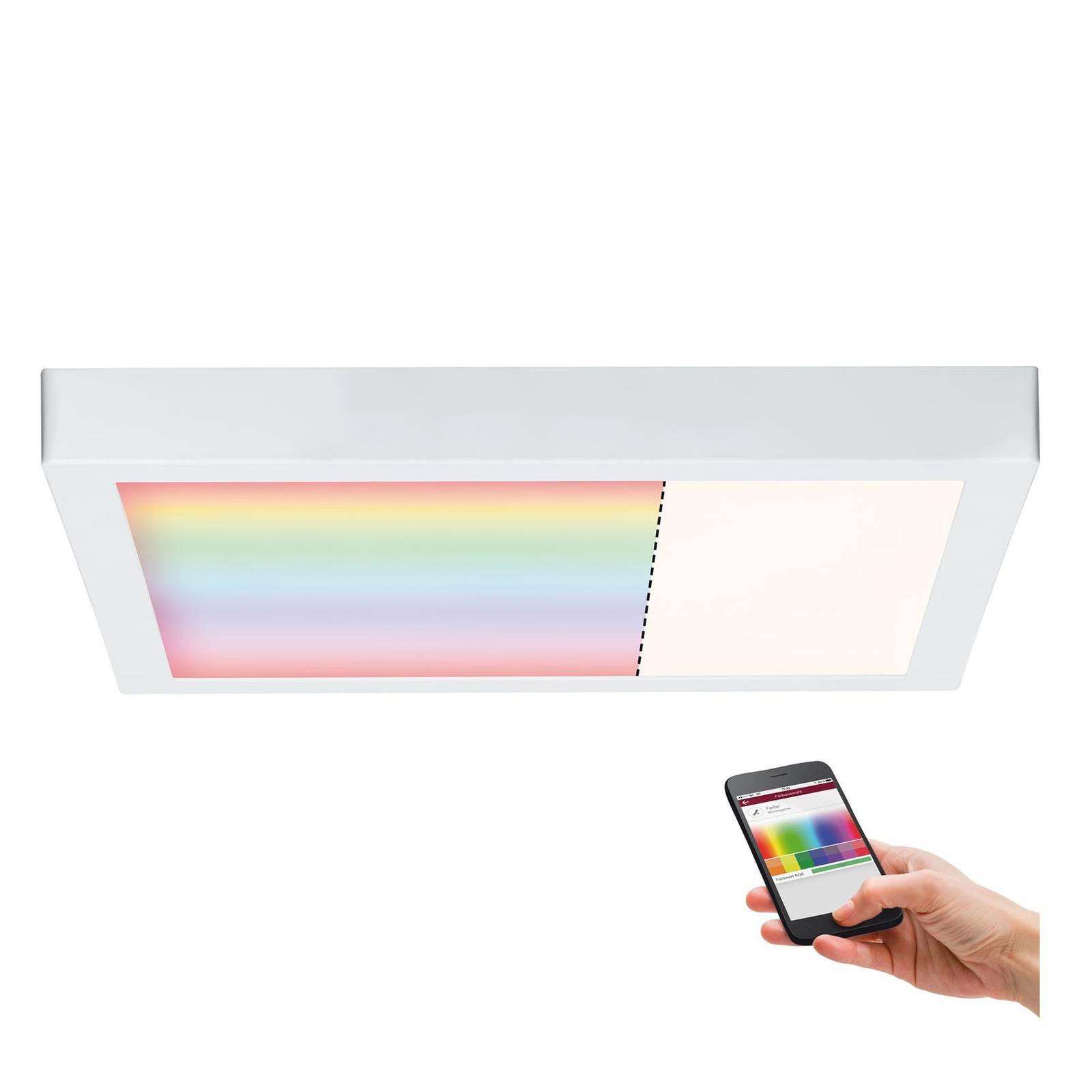 Paulmann Cesena ZigBee LED plafondlamp, 40x40 cm