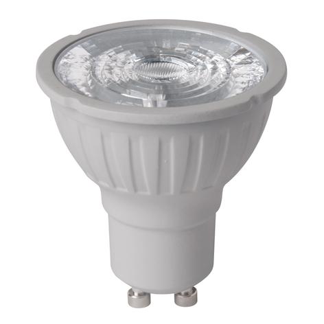Riflettore LED GU10 dual beam 5,2W dimming 4.000K