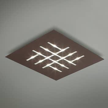 Pattern - quadratische LED-Deckenlampe