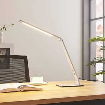 Lampada da scrivania a LED Nicano con dimmer