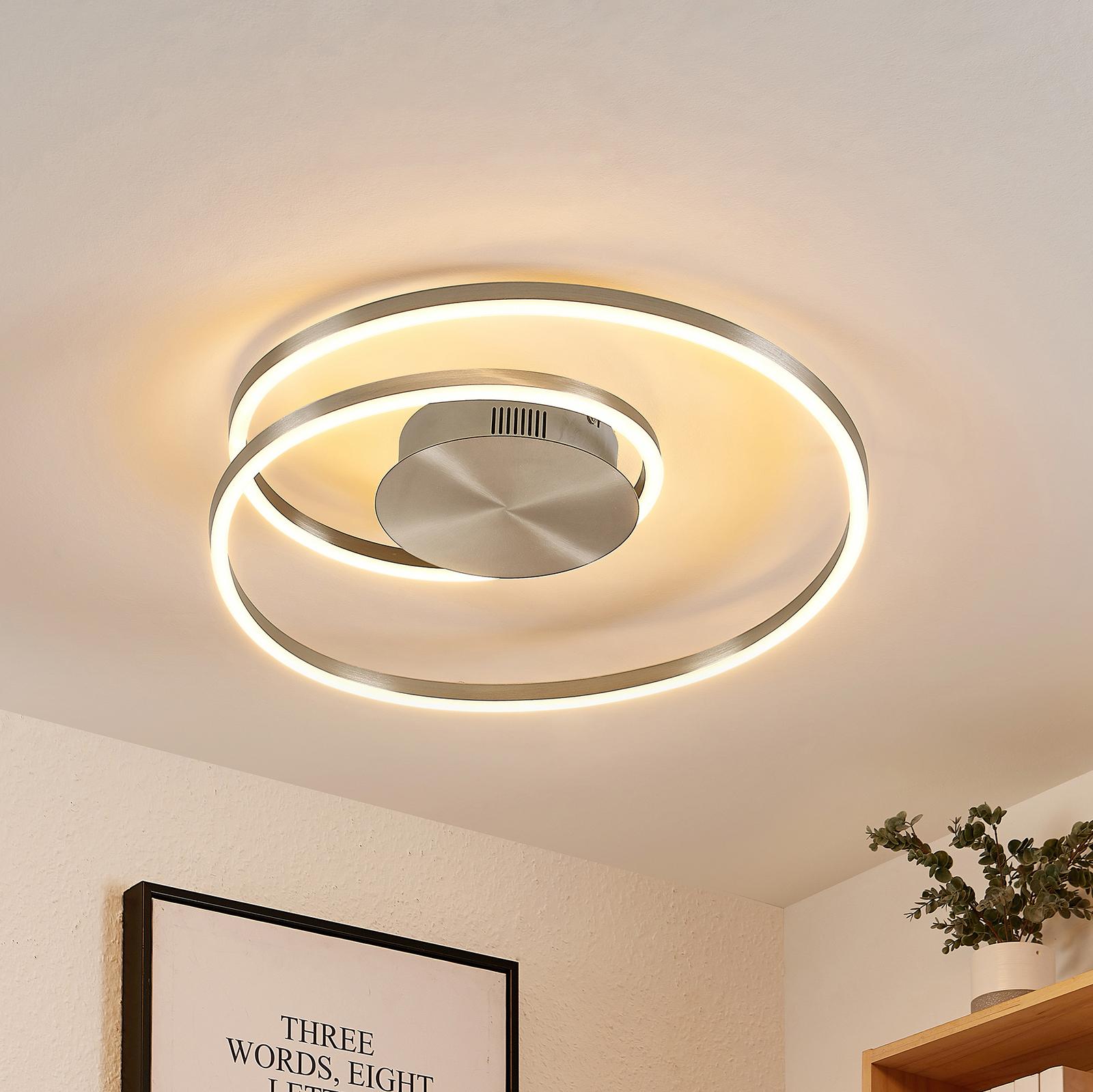 Lindby Imus LED-taklampe, dimbar, Ø 49 cm