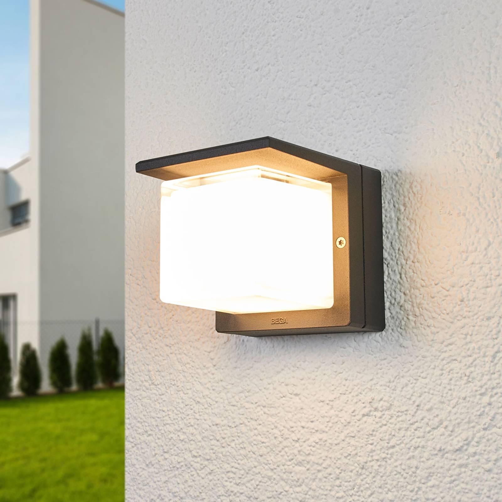 BEGA 33327K3 LED buitenwandlamp grafiet 3000K