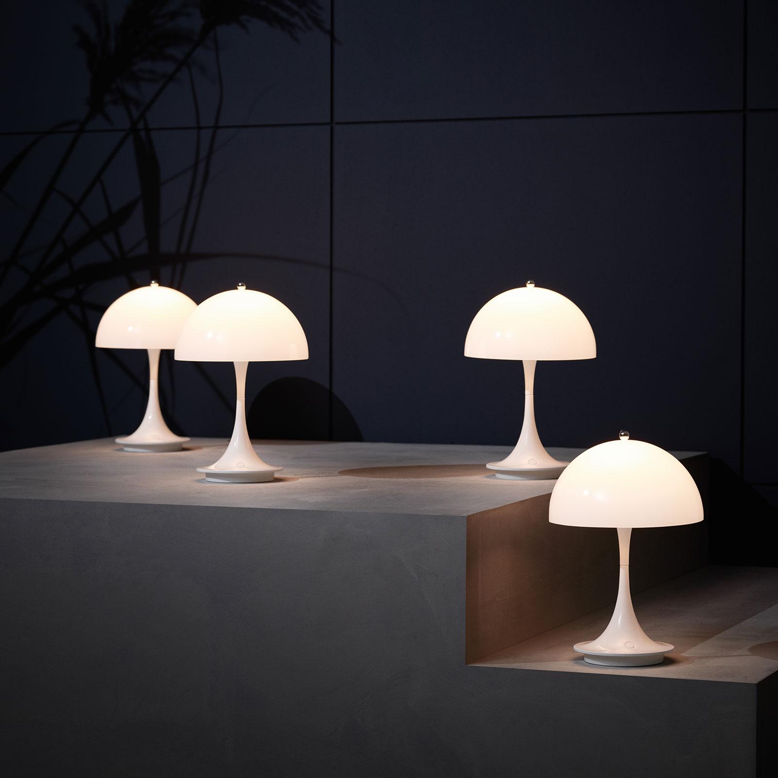 Louis Poulsen Panthella Portable LED-Tischlampe