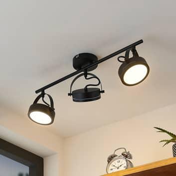 Lindby Omila foco de techo LED, 3 luces