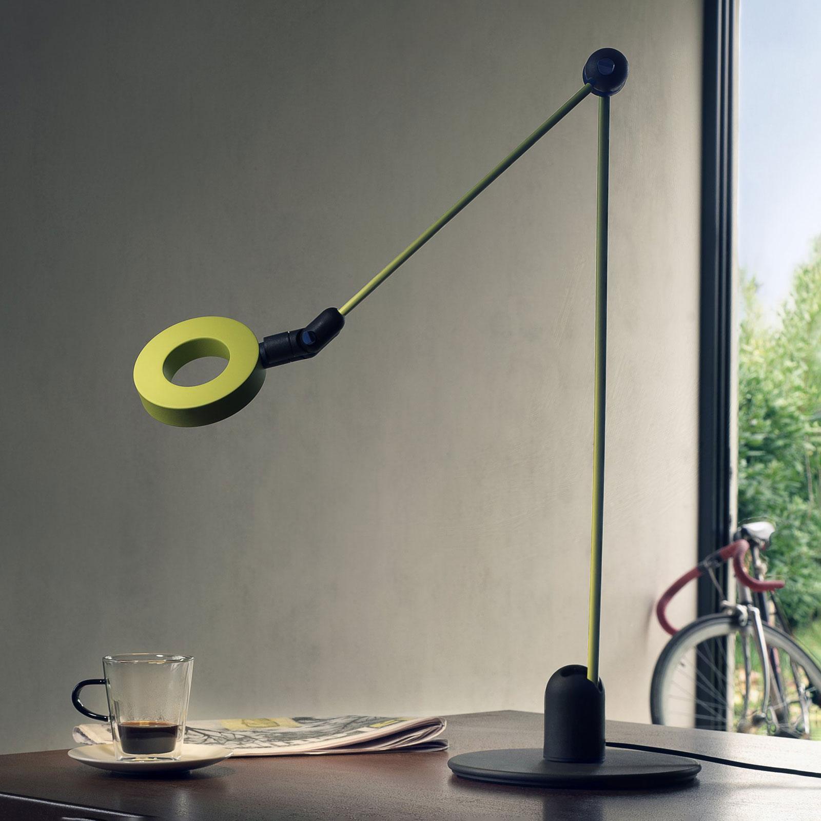 Martinelli Luce L'amica LED-bordslampa, pistasch