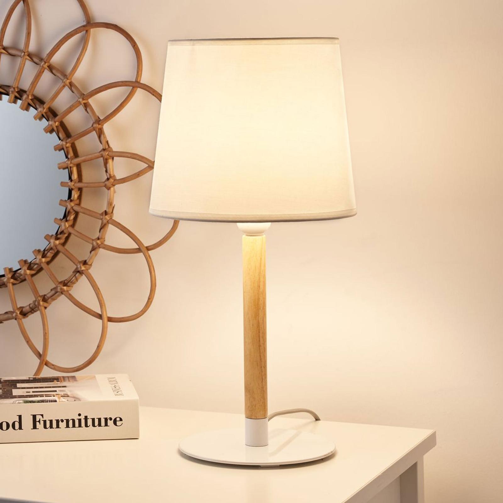 Pauleen Woody Cuddles Tischlampe mit Textilschirm