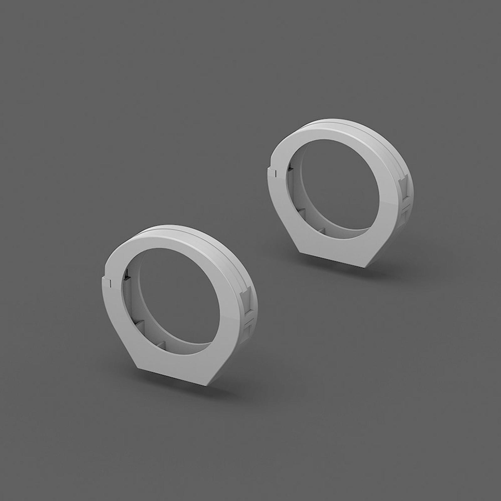RZB Schellen Deckenmontage für Planox Tube