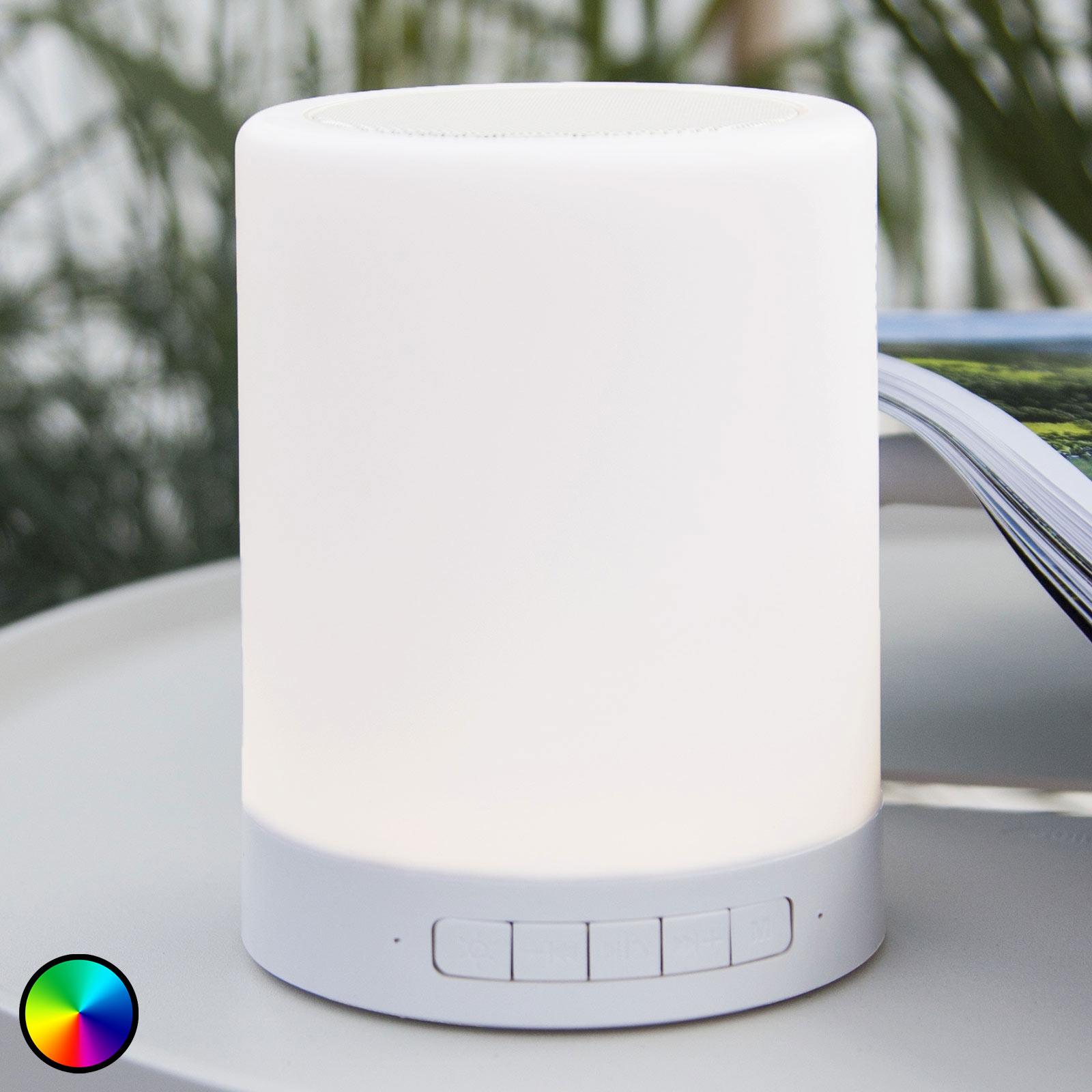 LED-Tischleuchte 362-81 mit RGBW und Lautsprecher