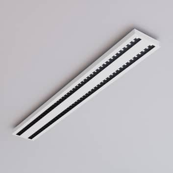 Kancelářské LED stropní světlo Jolinda, dvouřadé