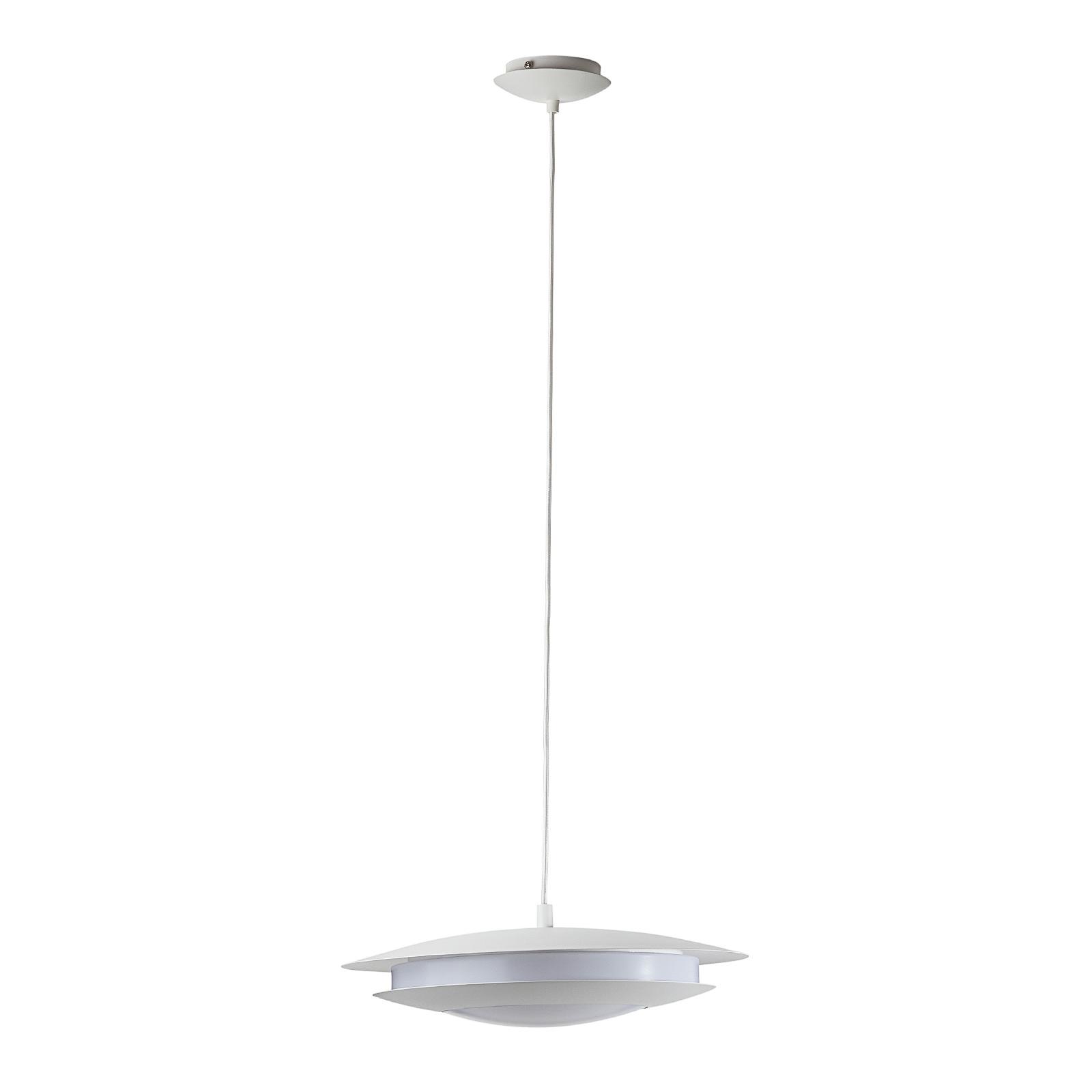 EGLO connect Moneva-C LED-hengelampe hvit Ø 40,5
