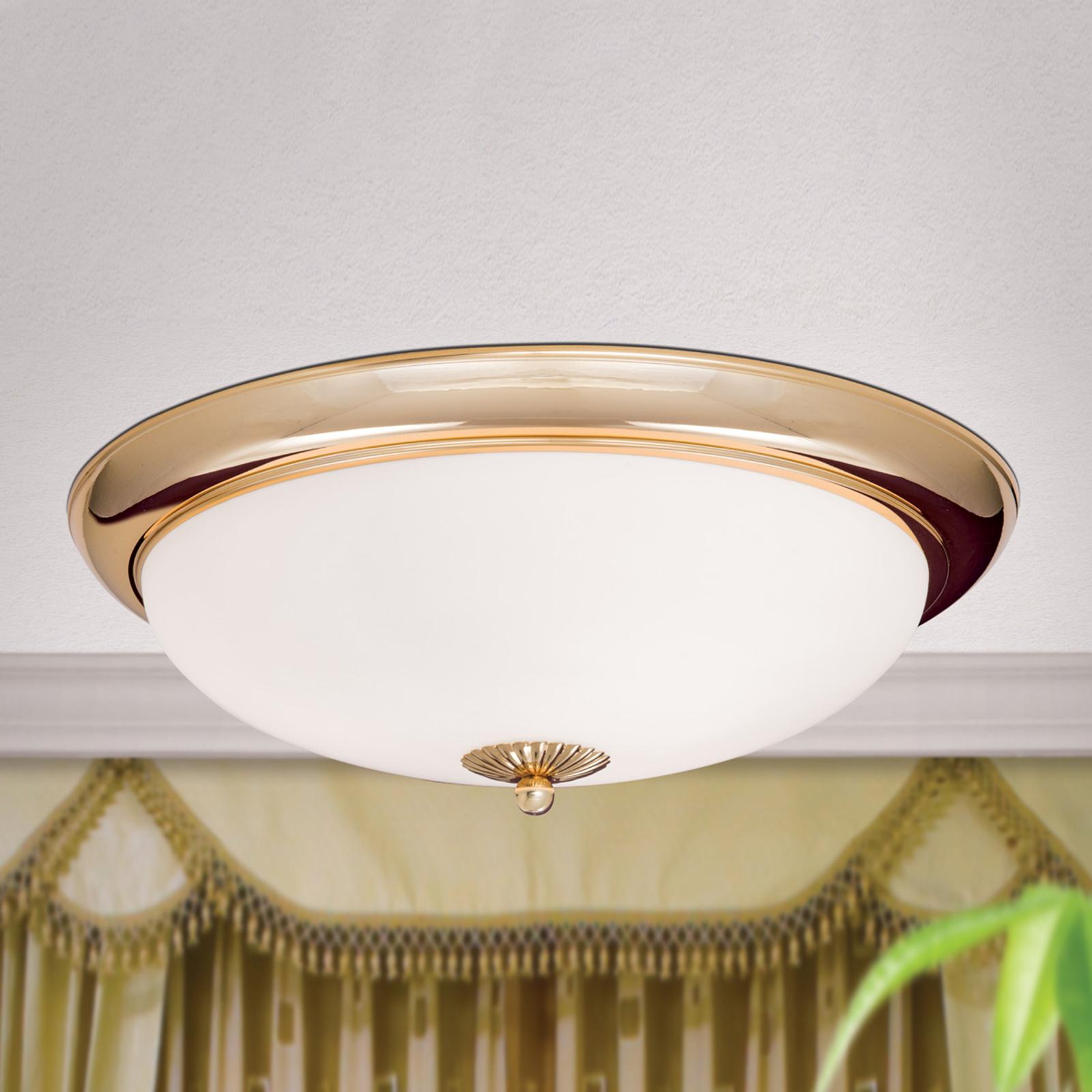 Plafondlamp EMPIRE, diameter 47 cm, verguld