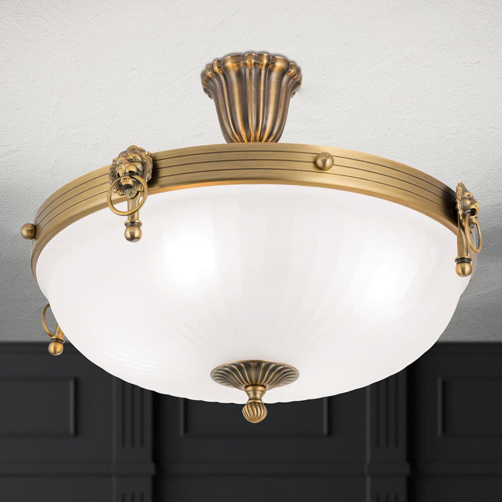 Niezwykła lampa sufitowa NOAM