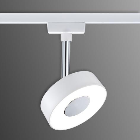 Paulmann URail Circle spot LED rond en blanc
