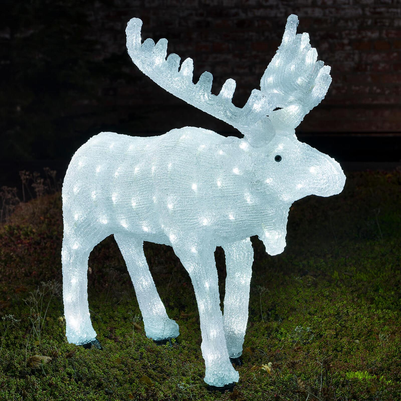 Höjd 65 cm - LED-Älg