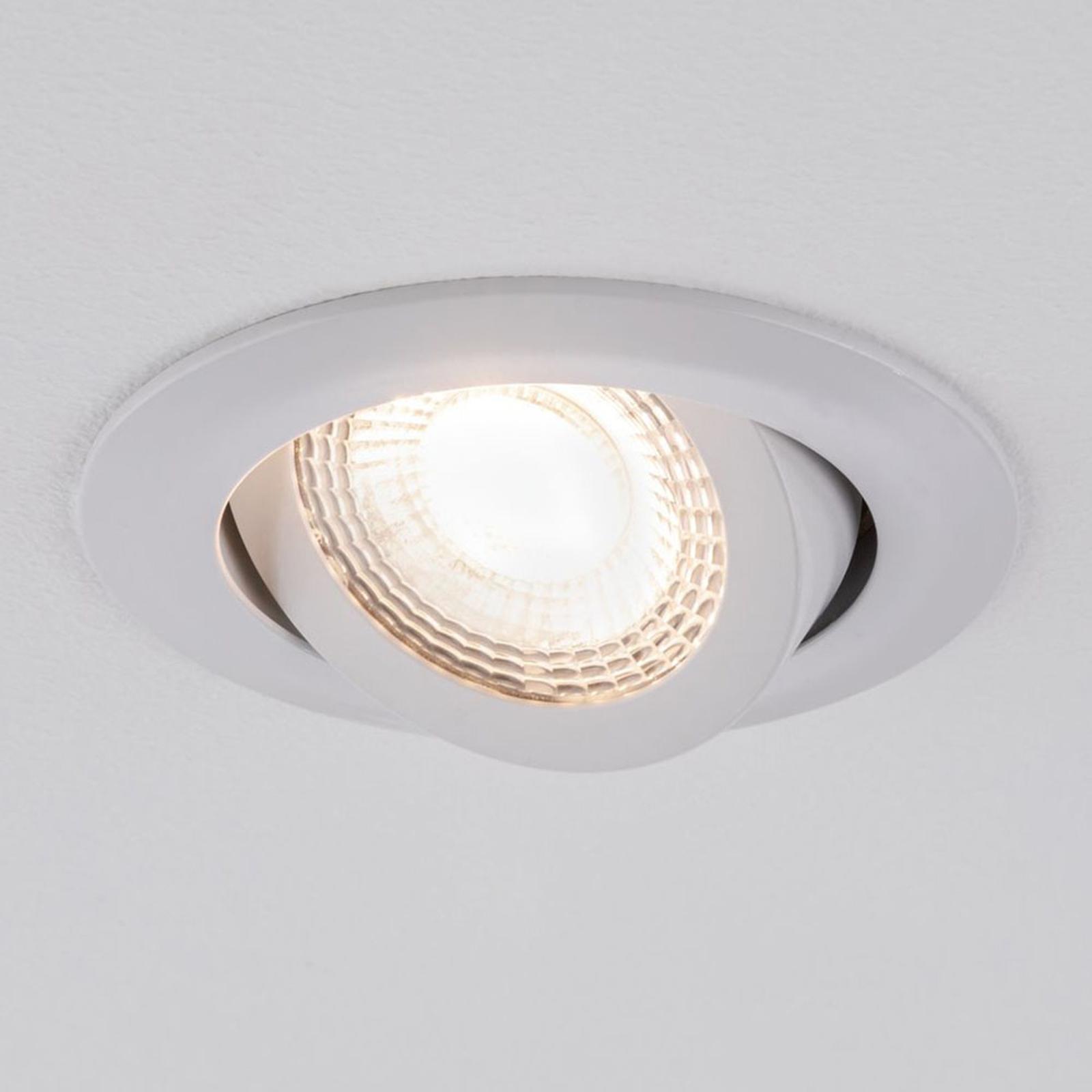 Paulmann 92985 reflektor wpuszczany 3 x 6W, biały