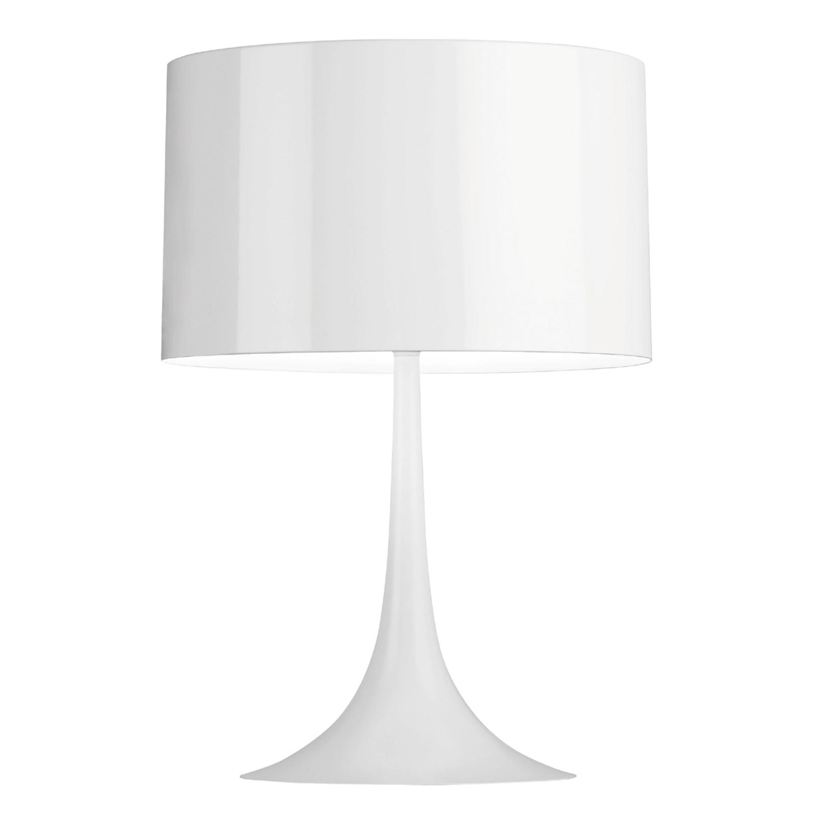 Lampe à poser harmonieuse SPUN LIGHT blanche