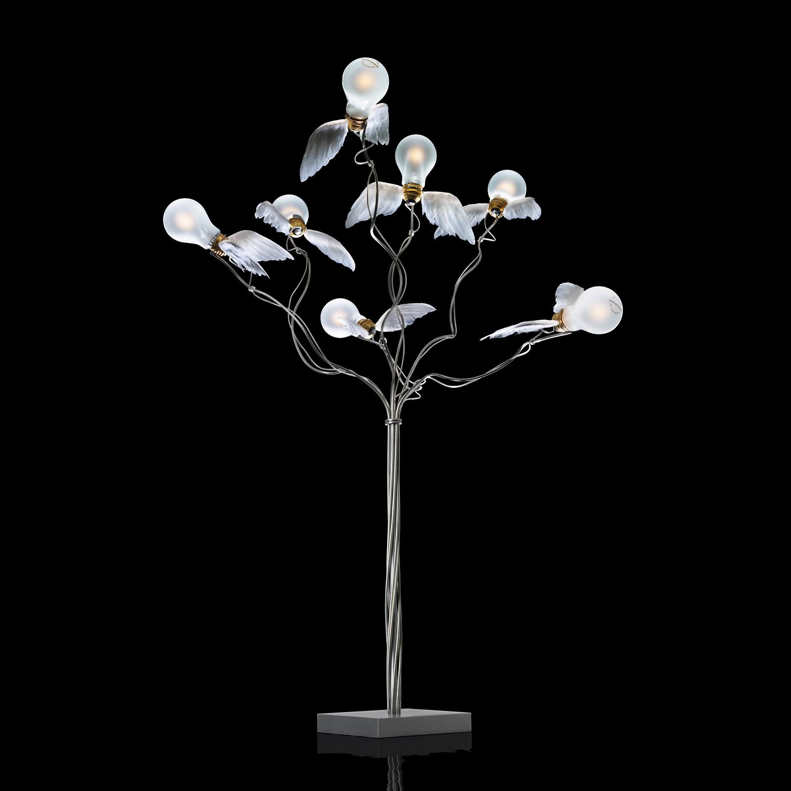 Ingo Maurer Birdie's Busch lampada LED da terra