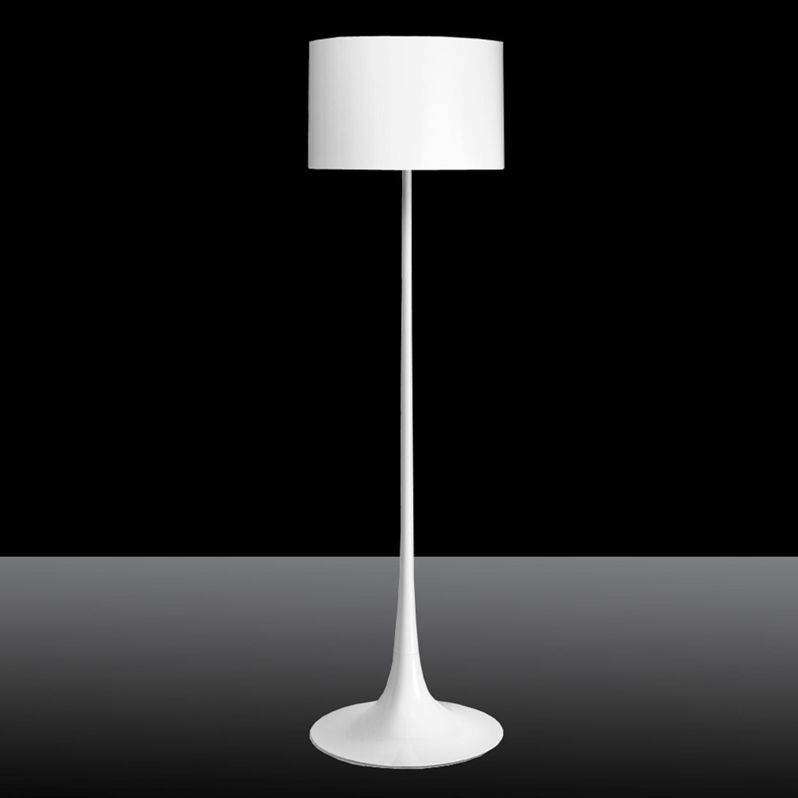 Spun Light F - valkoinen lattiavalaisin FLOSilta
