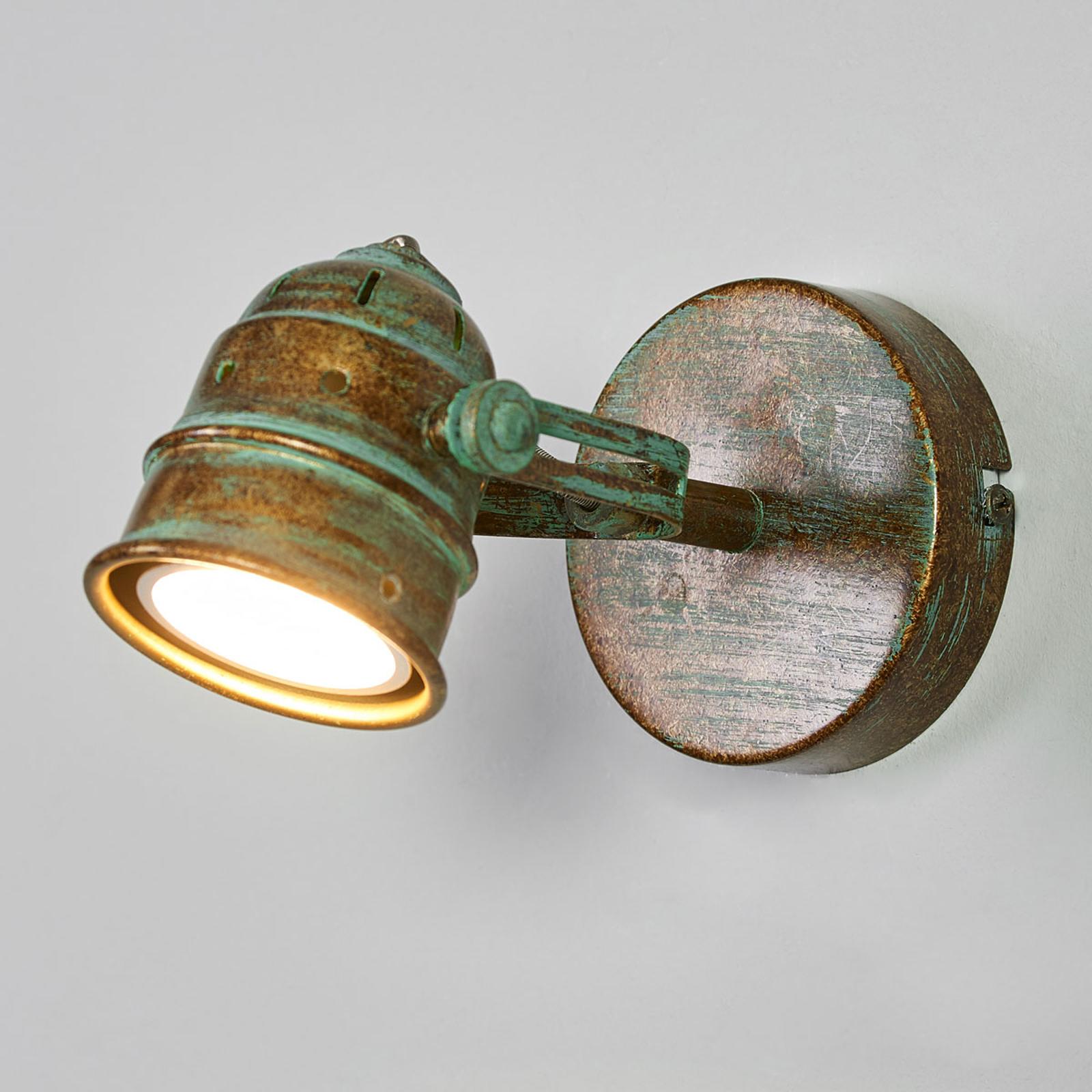 Leonor - LED bodové osvětlení se vzhledem měděnky