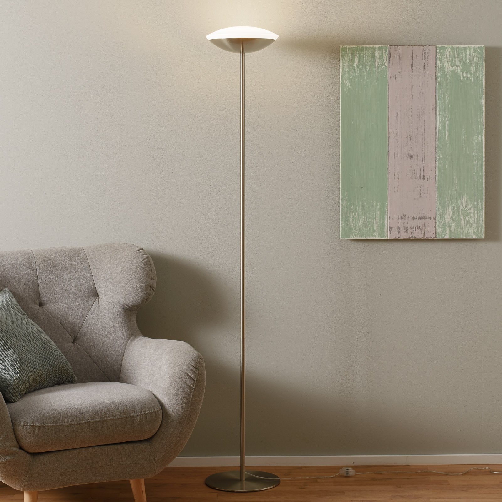 EGLO connect Frattina-C lampadaire indirect LED