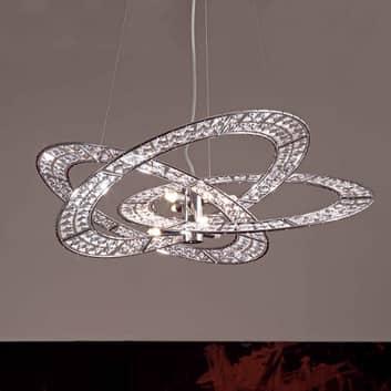 Lámpara colgante de cristal Trilogy 9 luces