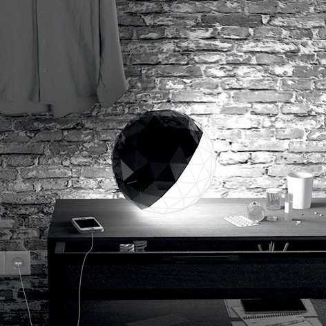 Artemide Huara lampada LED da tavolo, comandi app