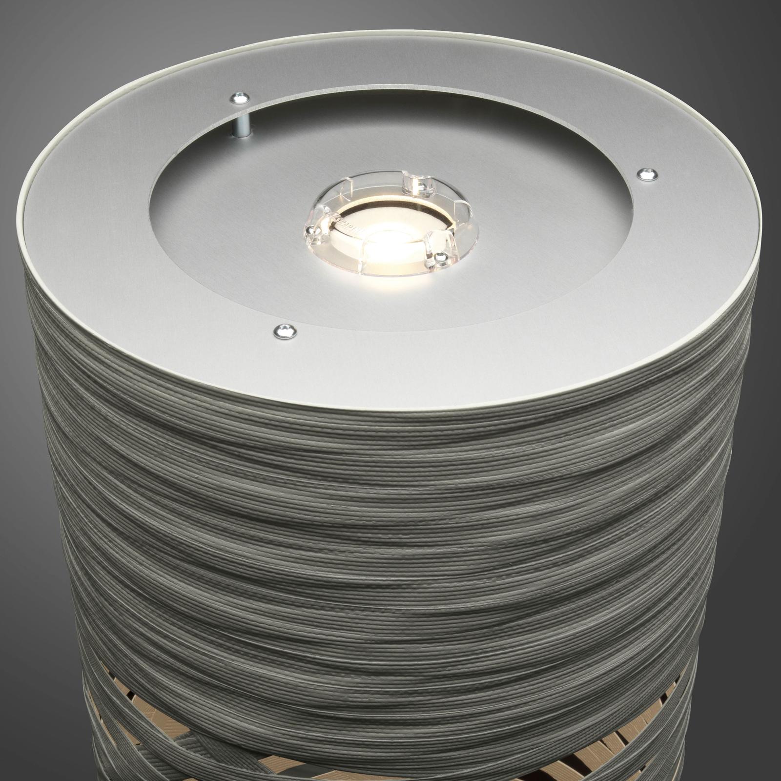 Foscarini Tress media vloerlamp, wit