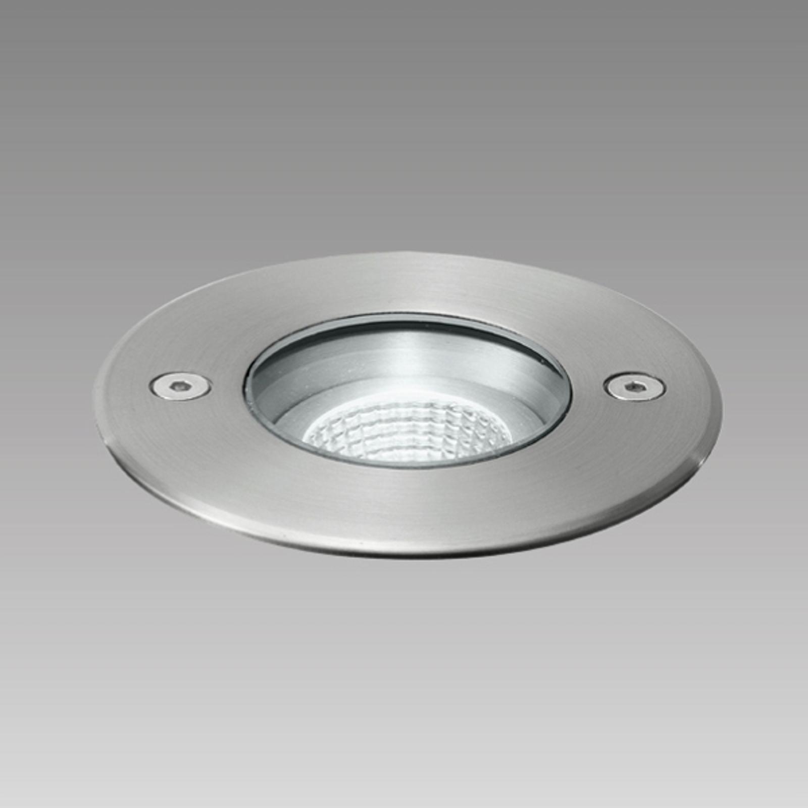 Spot encastré en acier inoxydable Frisco LED, IP67