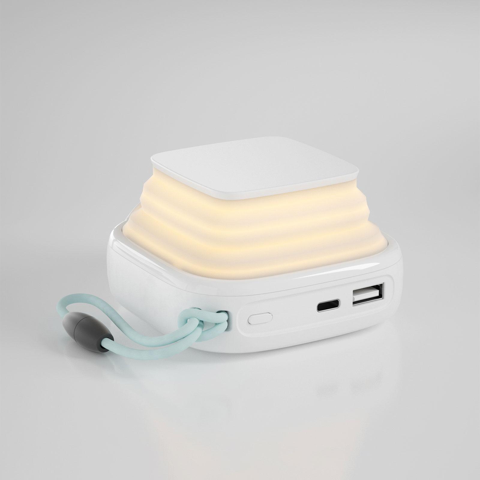 MiPow PopCandle 10000 mobilladdare, nattlampa