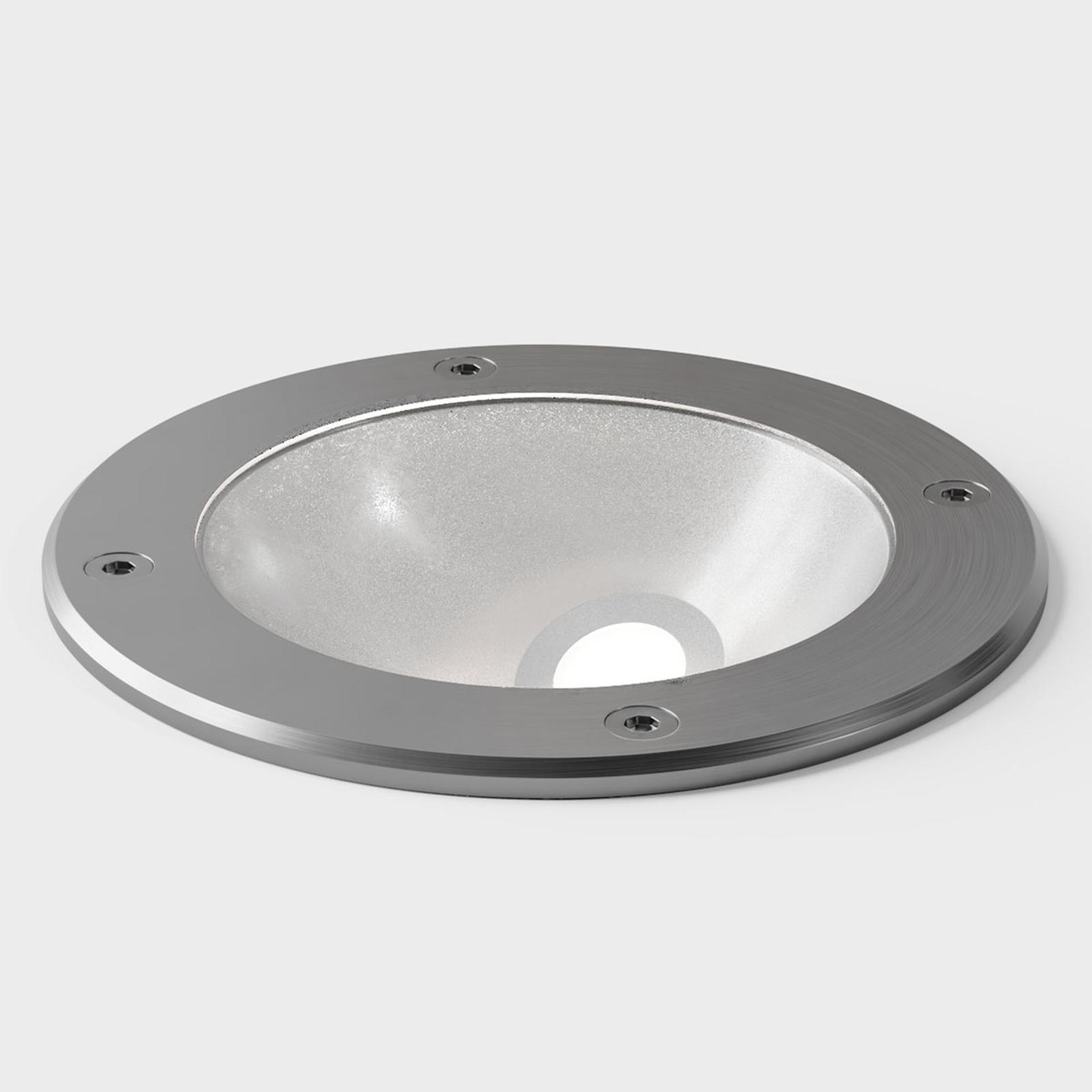 IP44.de In A faretto LED da interrare, acciaio