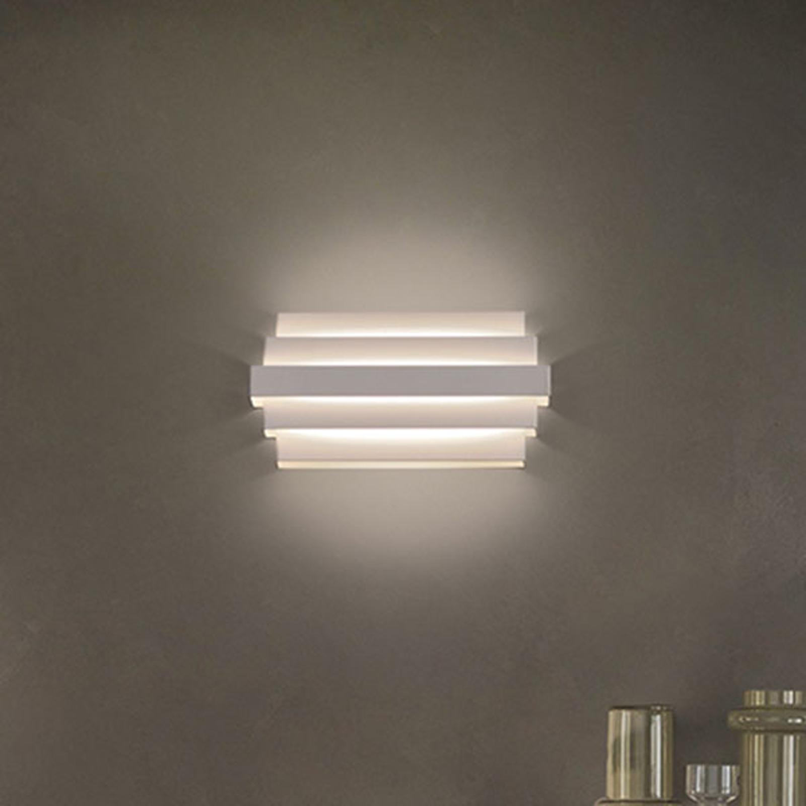 LED-Wandleuchte Oris, weiß