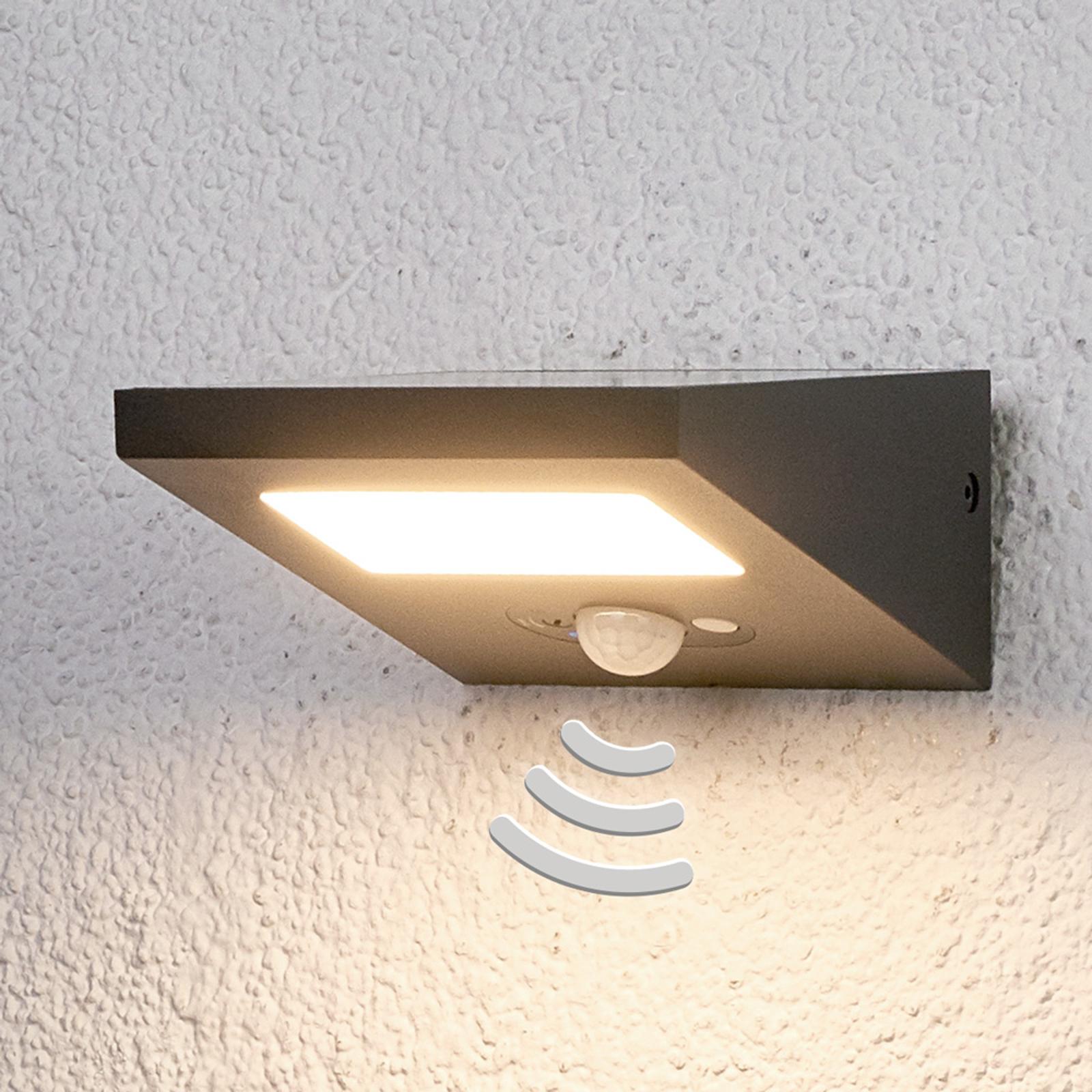 Świecąca w dół solarna lampa zewnętrzna FELIN