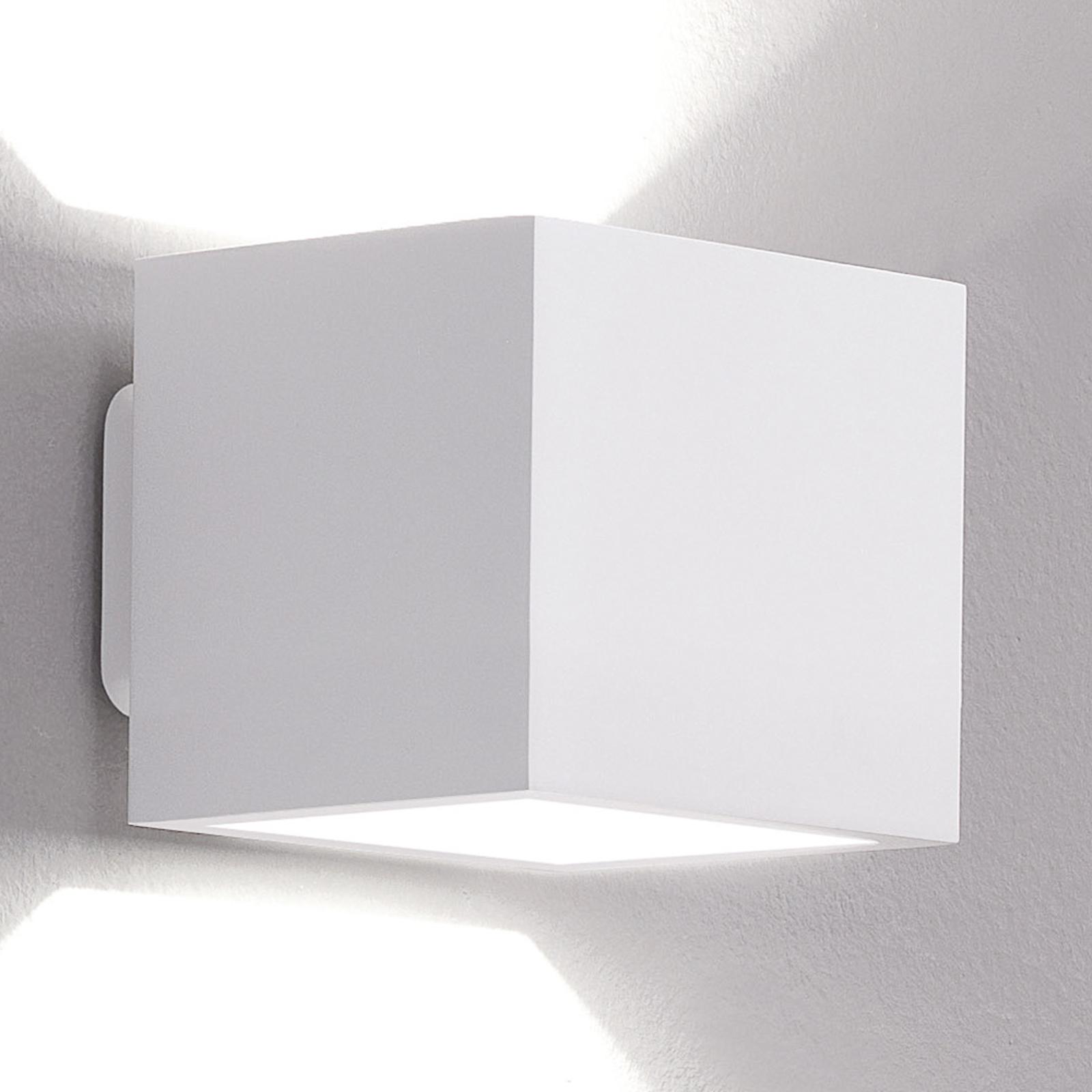 ICONE Cubò lampa sufitowa LED, 10 W, biała