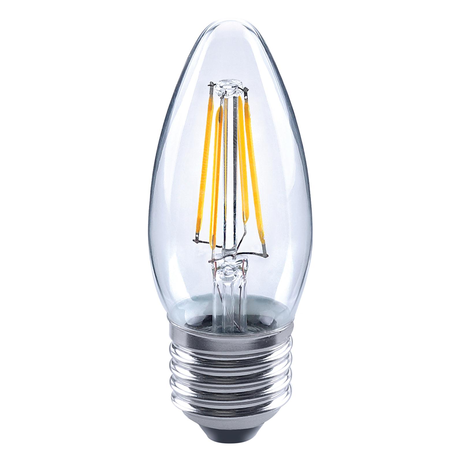LED-Kerzenlampe E27 4,5W 827 Filament klar