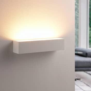 Santino - nástěnné světlo z bílé sádry