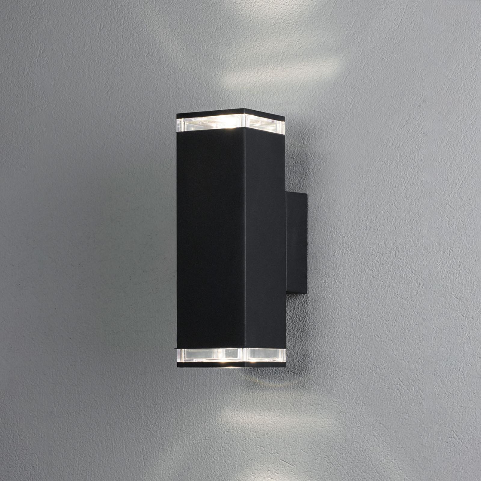 Außenwandleuchte Monza 2-flg., Höhe 23,5 cm