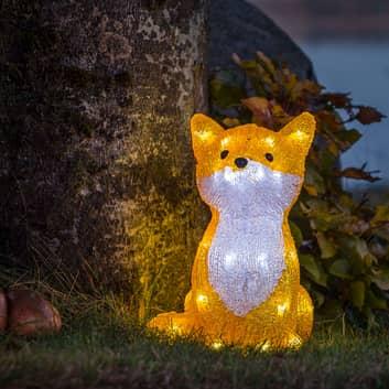LED-lichtfiguur Fuchs voor buitengebruik